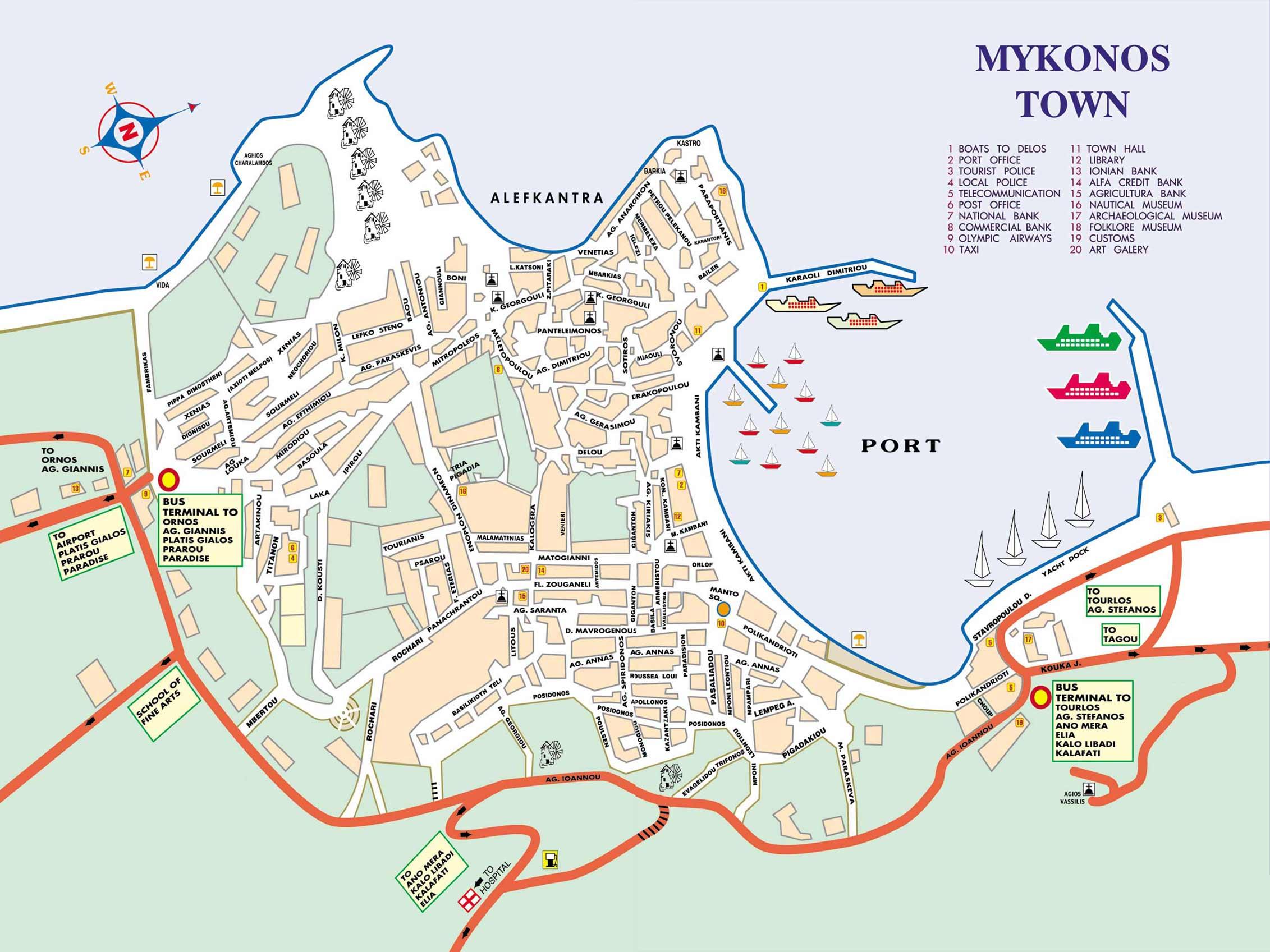 Mykonos-Town-Map